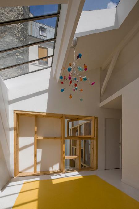 un loft paris par colboc franzen et associ s conseils d co. Black Bedroom Furniture Sets. Home Design Ideas