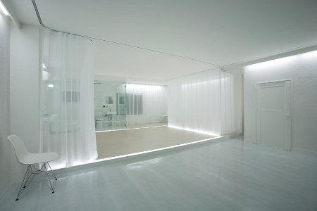 Une R Novation D Appartement Pur E Blanche Et Translucide Conseils D Co
