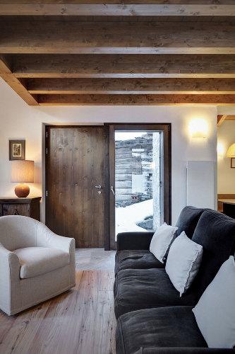 Grange transformée en maison contemporaine es casa up le salon