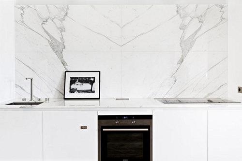 credence cuisine marbre un appartement paris architecture intrieure frederic berthier - Credence Cuisine Marbre