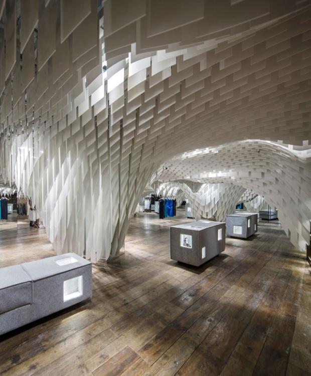 Boutique SND Fashion Store par l'agence 3GATTI