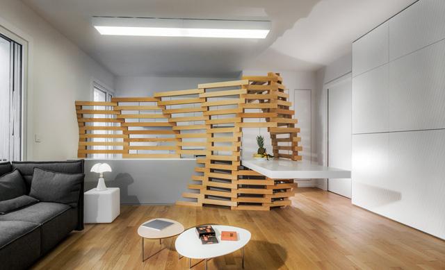 Elegant Appartement Woodwave Par Paul Coudamy Belle Conception