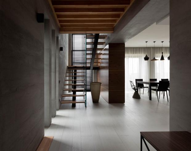conseilsdeco-deco-decoration-architectes-Sergey-Alexander-Gotvyansky-NOTT-Design-Studio-cottage-Ukraine-Beton-noyer-americain-noir-blanc-011