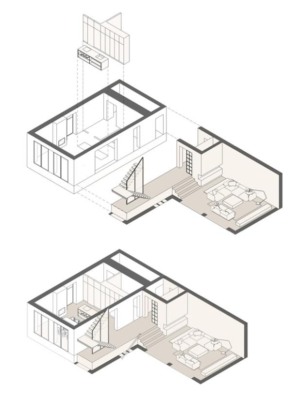 Refonte totale d'un petit cottage en Ukraine par NOTT Design Studio