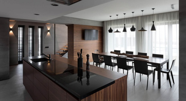 conseilsdeco-deco-decoration-architectes-Sergey-Alexander-Gotvyansky-NOTT-Design-Studio-cottage-Ukraine-Beton-noyer-americain-noir-blanc-08