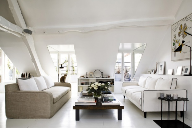 Un loft tr s l gant paris conseils d co - Sarah lavoine decoration ...