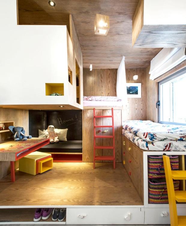 Un penthouse à Tel-Aviv par l'agence Toledano + architectes