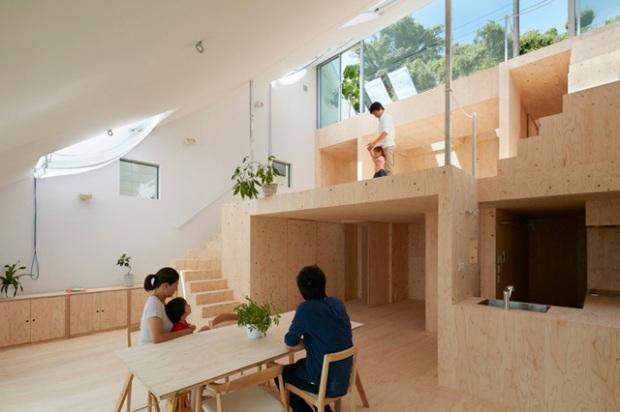 Maison à Kobe par Tomohiro Hata http://www.hata-archi.com/english.html