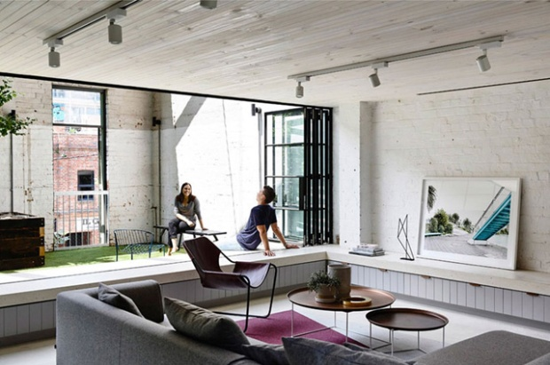 Rénovation d'un loft par EAT architects