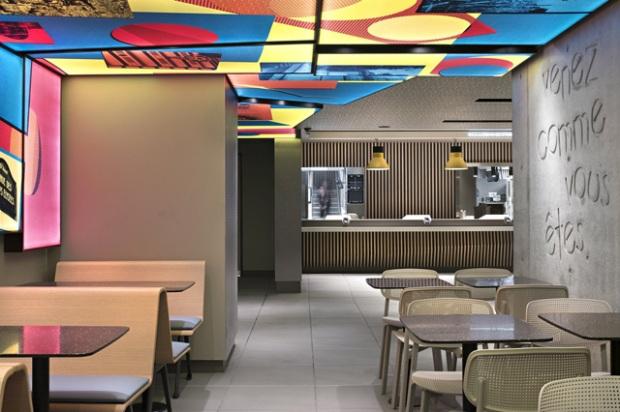 McDonald's des Champs-Elysées par le designer Patrick Norguet