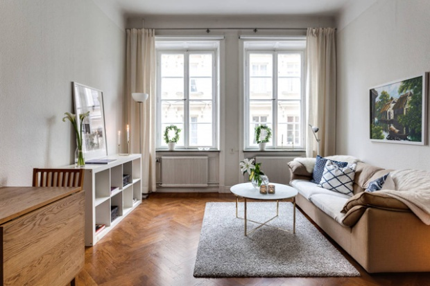 Appartement à Stockholm par Alexander White – Photographies Henrik Nero