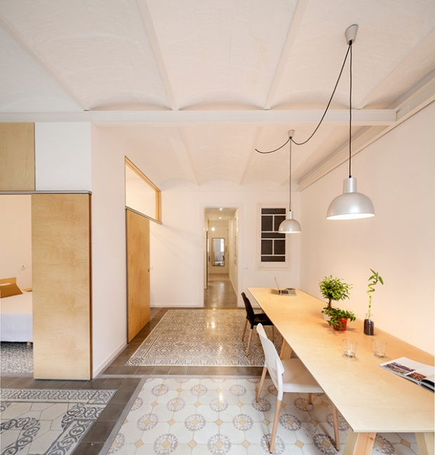 Appartement à Barcelone par l'architecte Adrian Elizalde