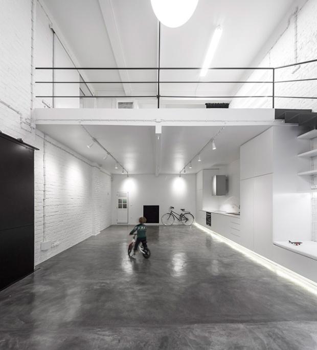 Anjos loft le minimalisme extr me conseils d co for Design interieur universite