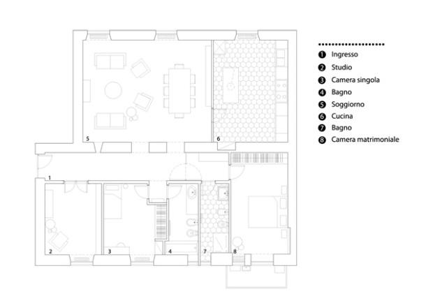 Conseilsdeco-Italie-Rome-studio-Strato-Tuscan-Red-House-architecture-interieur-Martino-Fraschetti-Vincenzo-Tattolo-renovation-appartement-12
