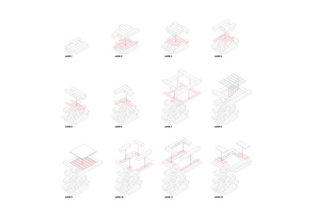 Conseilsdeco-Sculpture-mobilier-Belgique-studio-Farris-bureaux-bois-poutre-renovation-mezzanine-Koen-Van-Damme-11
