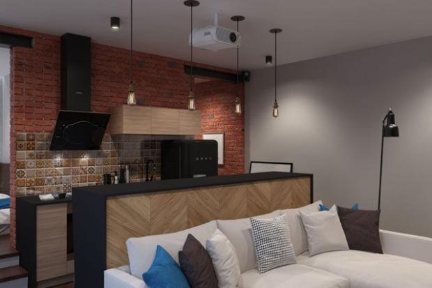 un appartement d tudiant totalement r nov dans un style industriel conseils d co. Black Bedroom Furniture Sets. Home Design Ideas