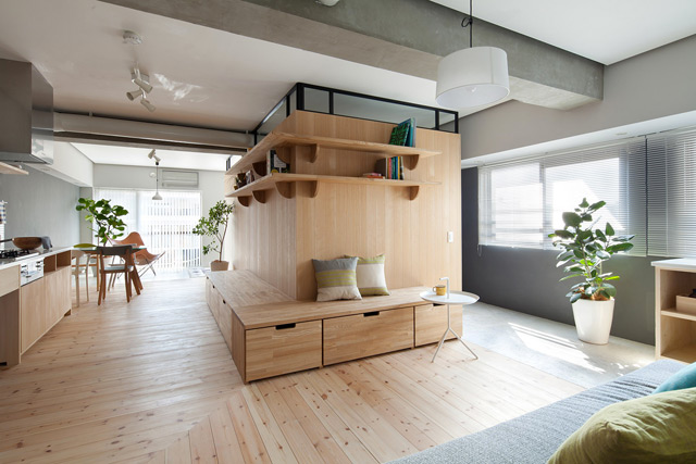 conseilsdeco,appartement,style,minimaliste,decoration,japonaise ,fujigaoka,studio,