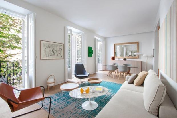 Un Appartement Madrilène À La Décoration Aussi Chaleureuse Que