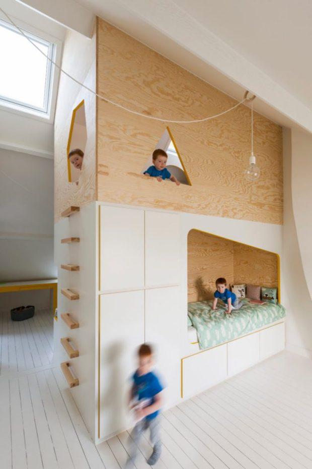amnager une chambre denfant ludique et minimaliste