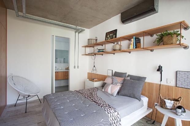une pi ce s par e en pointill s dans cet appartement de sao paulo conseils d co. Black Bedroom Furniture Sets. Home Design Ideas