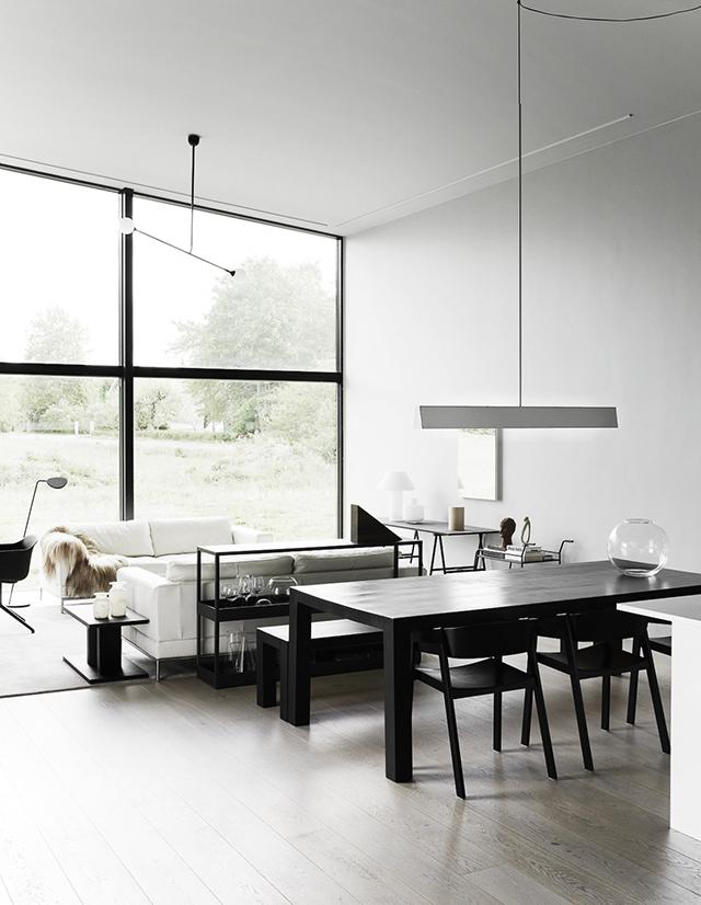 Une maison la d coration ultra graphique conseils d co for Conseils decoration maison