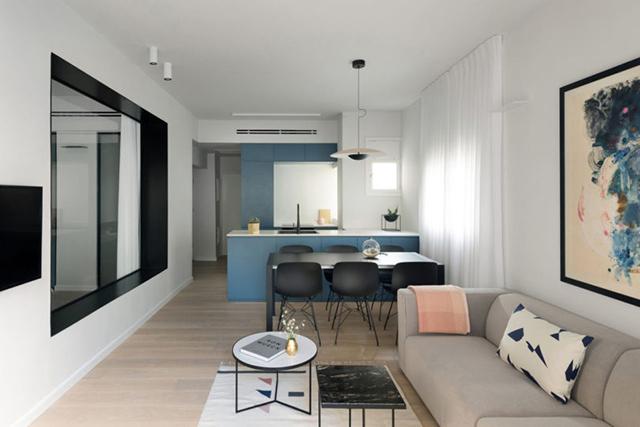 Une Décoration élégante Et Un Aménagement Fonctionnel Dans Cet Appartement  Pour Un Famille De 4 Personnes