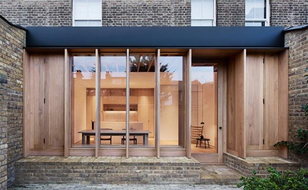 Une extension en bois pour un maison des ann es 70 du for Demarche pour extension maison