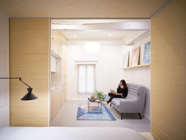 URBAN COCOON, ou comment aménager un tout petit studio en duplex ...