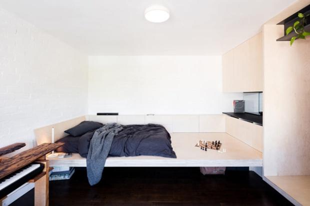 Un Micro Appartement Des Annees 1950 Renove Et Totalement Repense