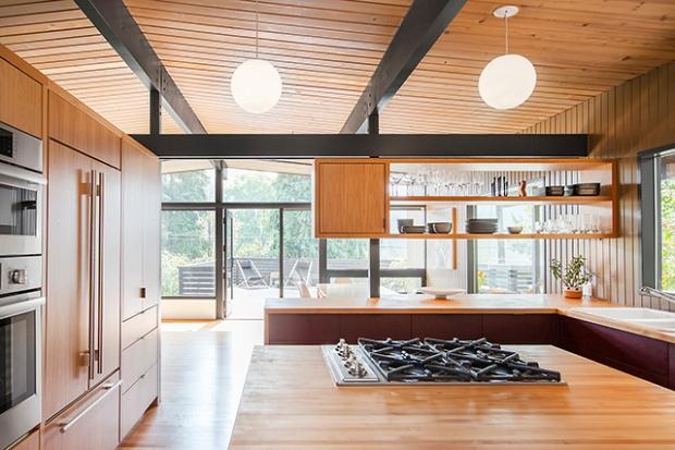 la r novation d une maison des ann es 50 seattle conseils d co. Black Bedroom Furniture Sets. Home Design Ideas