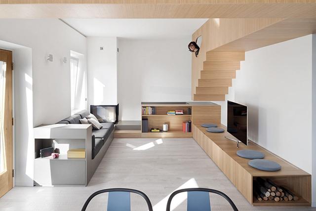 Conseilsdeco Into The Wood Moderne Lumineuse Italie Architecture Gosplan Architectes Charme  Maison Campagne Familiale Chaleureuse Decoration Deco 01?wu003d ...