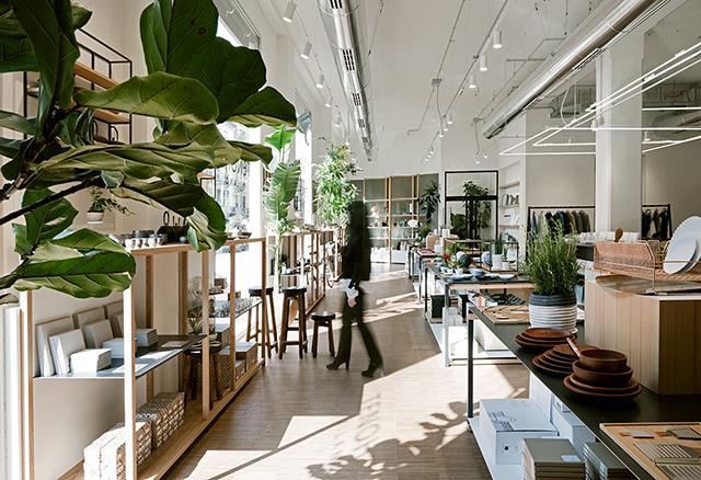 Tenoha un concept store qui m le d coration japonaise et for Service design milano