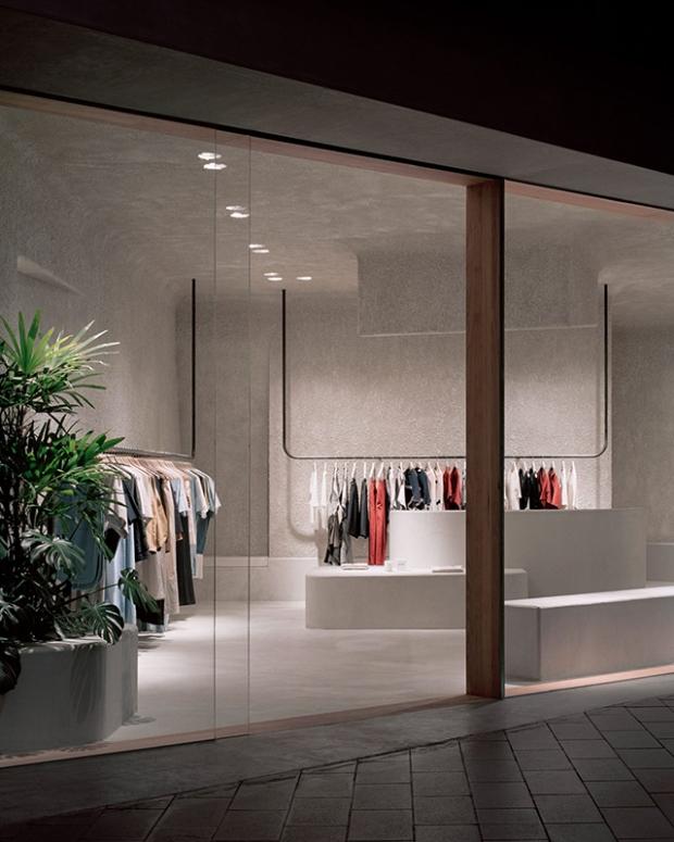 Un magasin de vêtements à Melbourne inspiré par l\'architecture ...