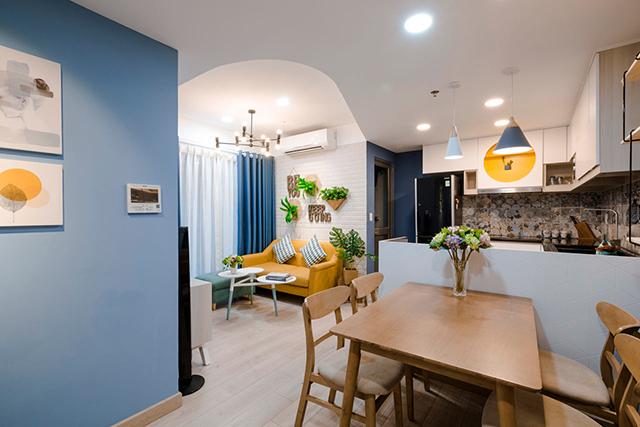 Au Vietnam, Lu0027agence De Design Et Du0027architecture Toki Home Vient De Livrer  Cet Appartement Totalement Rénové Pour Une Mère De Famille Célibataire.