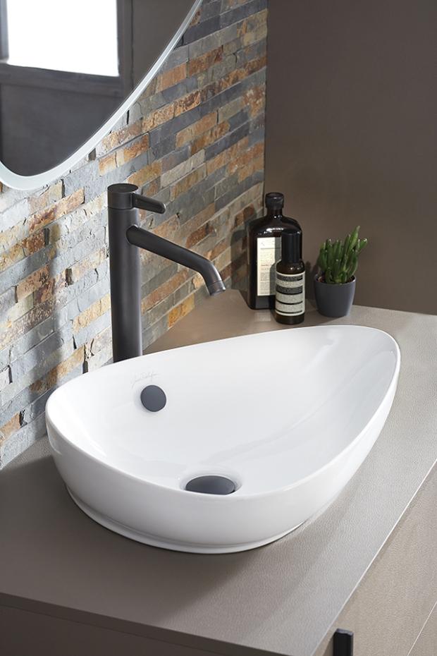 Créer une salle de bains version fifties c\'est possible ...