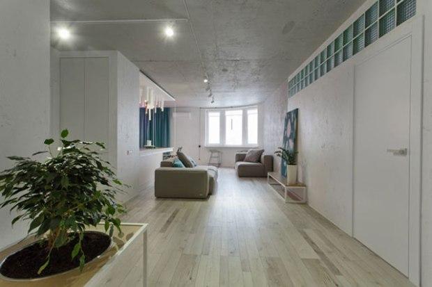 L incroyable d coration girly de cet appartement de kiev - Decoration interieur appartement minimliste kiev ...