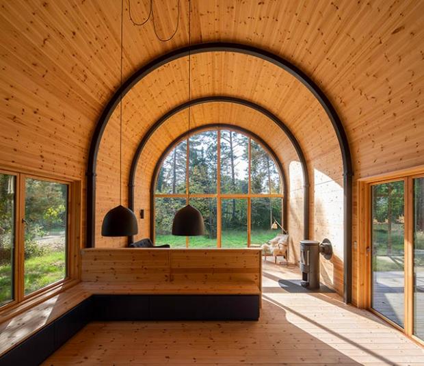 cabane en for t conseils d co. Black Bedroom Furniture Sets. Home Design Ideas
