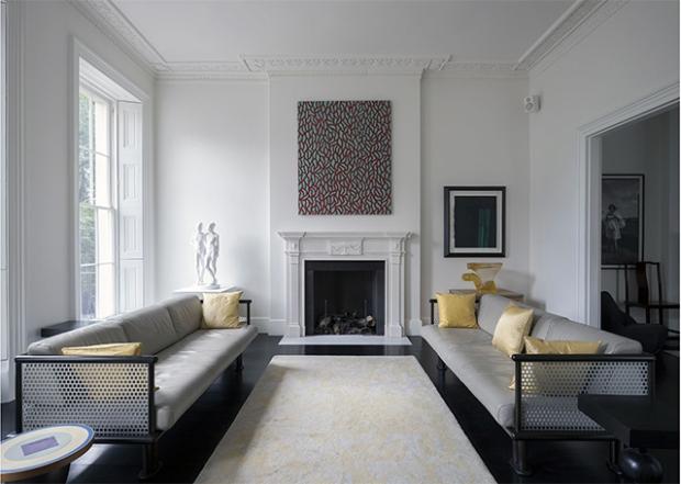 Une maison londonienne, à la déco entre tradition et minimalisme ...