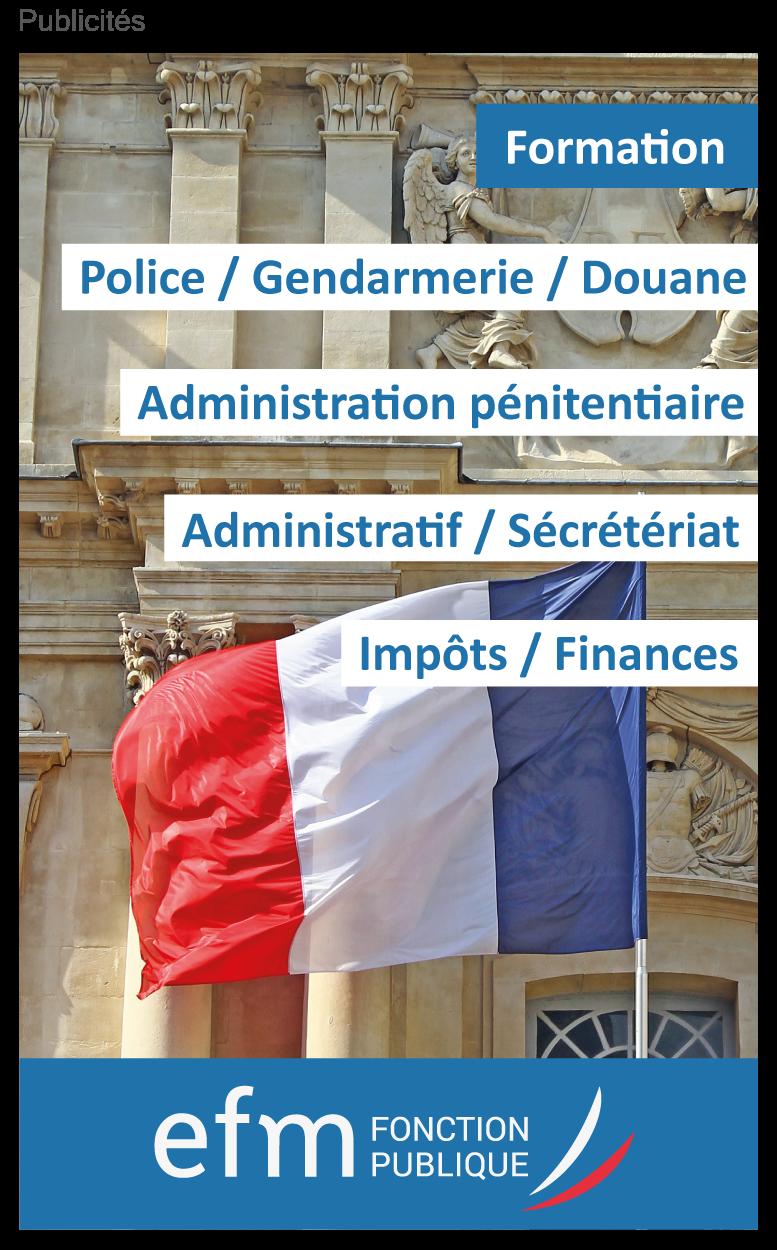 Formations EFM Fonction Publique