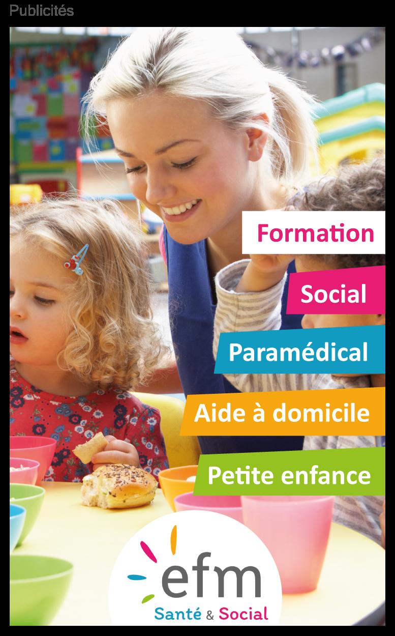 Formations efm santé social