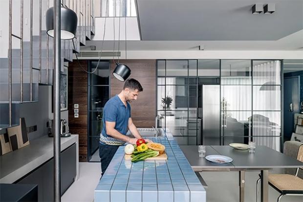 Conseilsdeco-deco-decoration-conseil-architecture-interieur-arty-rustique-penthouse-appartement-Pekin-IS-ambiances-materiaux-couleurs-mobilier-graphique-05